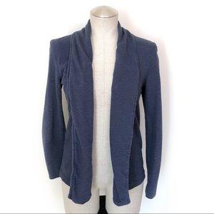 GAP Navy Sweatshirt Fabric Cardigan Size Small